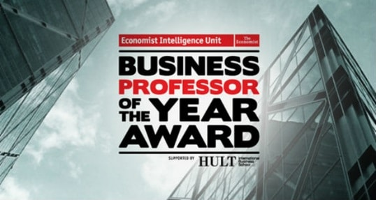 Honoring the Best Business Professor of the Year