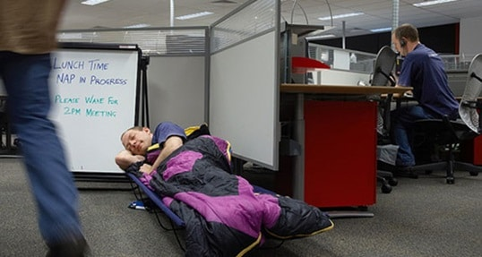 Is the Secret to Success Sleeping on the Job?