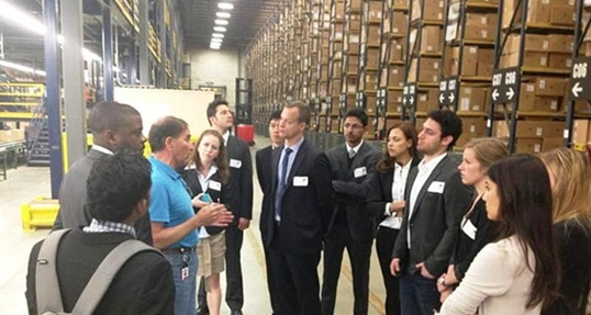 If the shoe fits: Students visit New Balance manufacturing plant