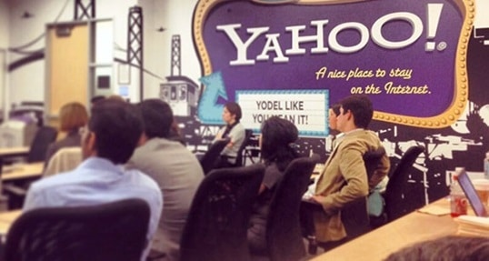 Students make valuable connections during Yahoo! Company visit