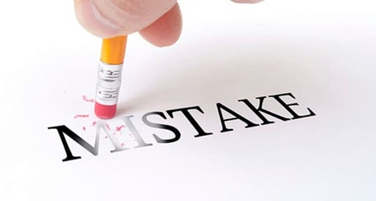 No Bad Deed Goes Unpunished: Mistakes in the Viral Age