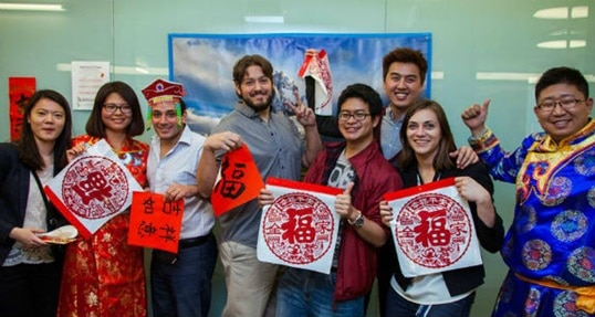 Students welcome the Year of the Horse with cultural showcase