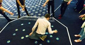 Alumni floor puzzle