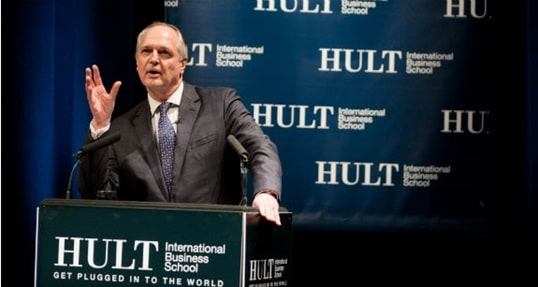 An evening with Paul Polman, CEO of Unilever #HultVSS