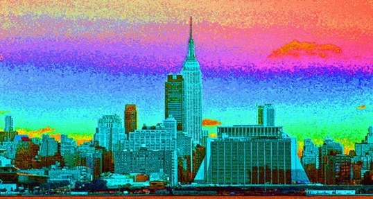 NYC multicolour