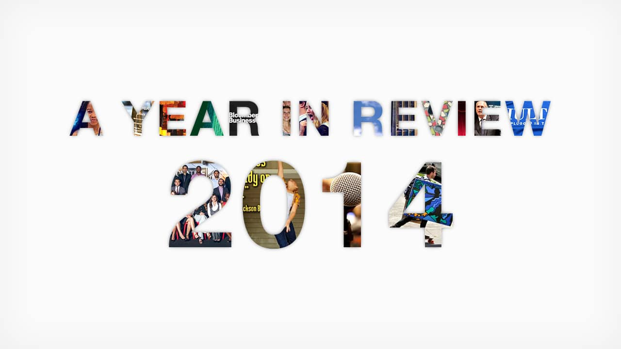 Student blog year in review