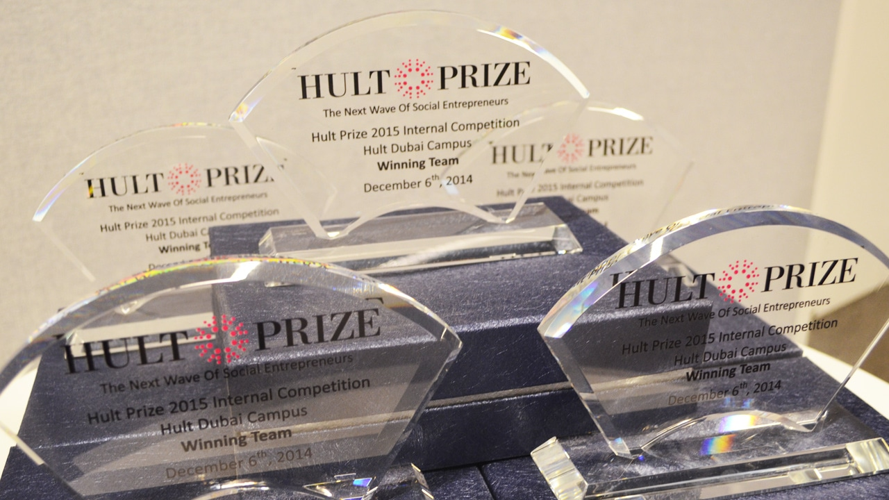 Hult Dubai team moves forward in Hult Prize