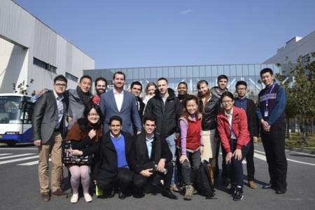 Hult Shanghai students visit Opple
