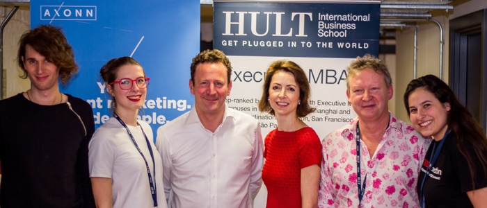 Speakers at the TEDx Hult London event