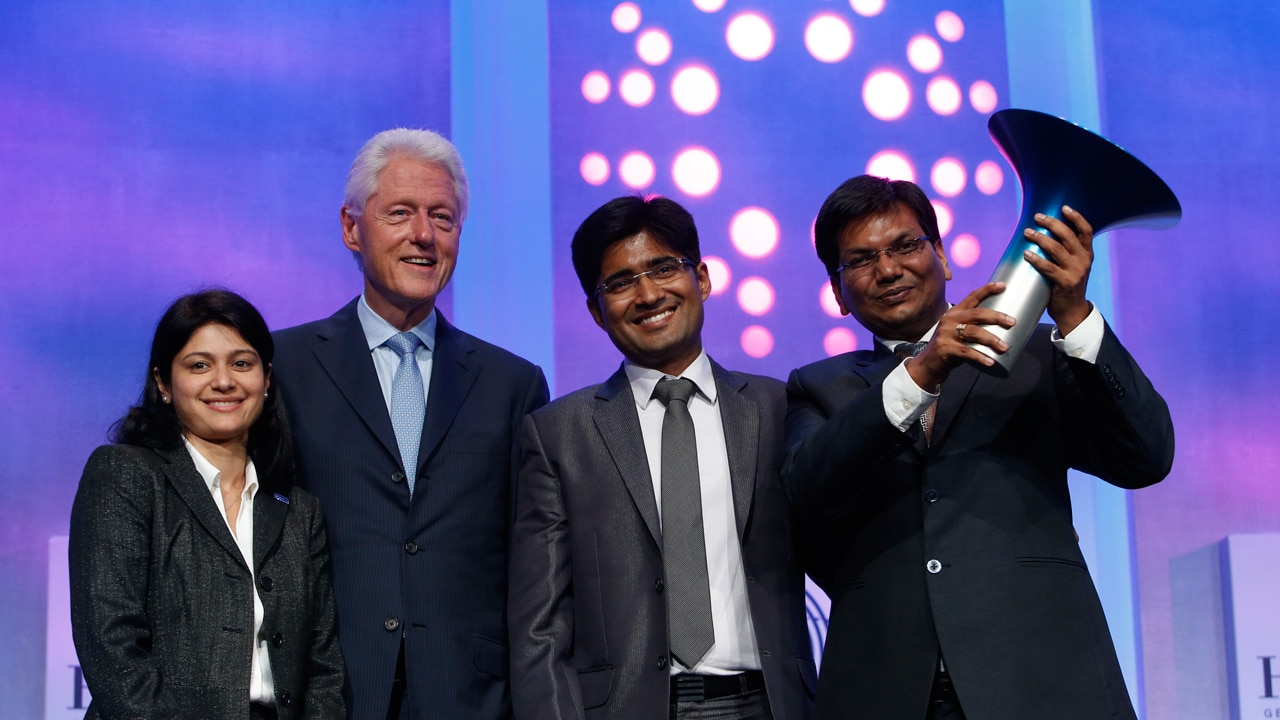 The 2014 Hult Prize winners