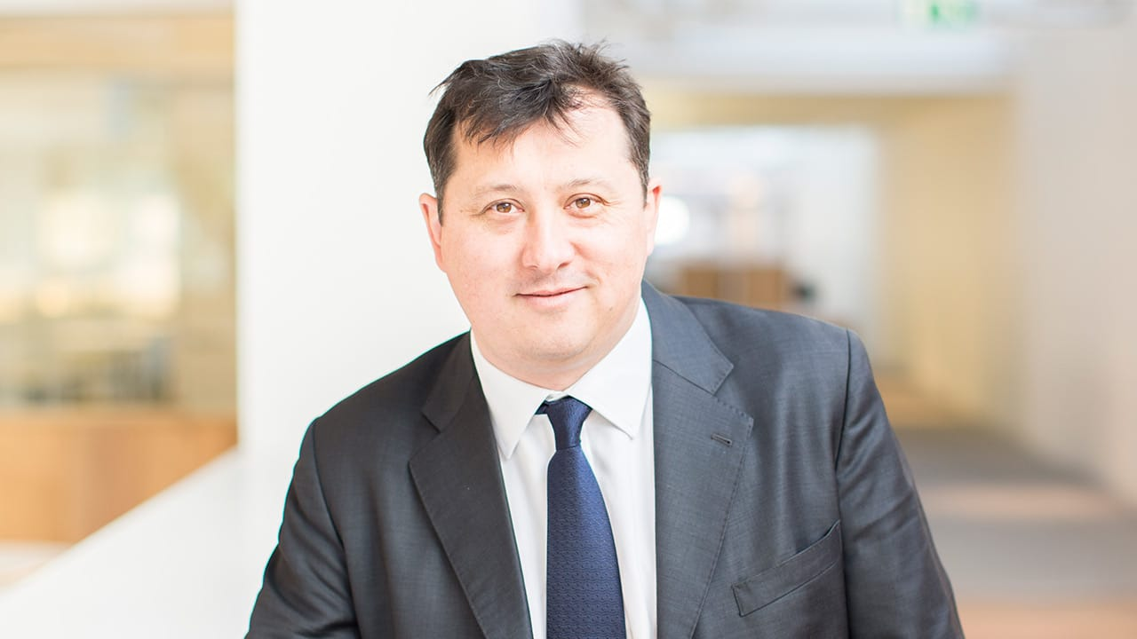 Stephen Hodges, president of Hult International Business School