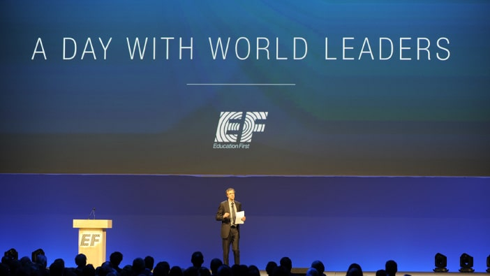 A day with World Leaders at EF 50 year celebration
