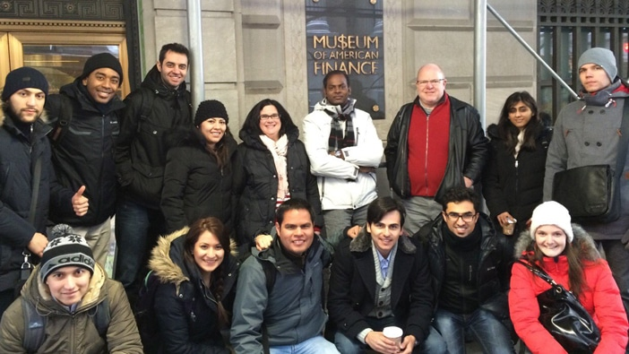 Hult Boston goes to Wall Street