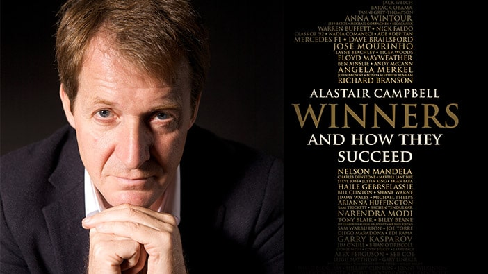Alastair Campbell shares his success secrets with Hult London students