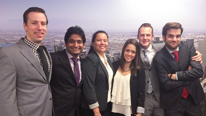 Hult business school students from San Francisco