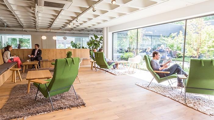 Entrepreneurial workspace in London