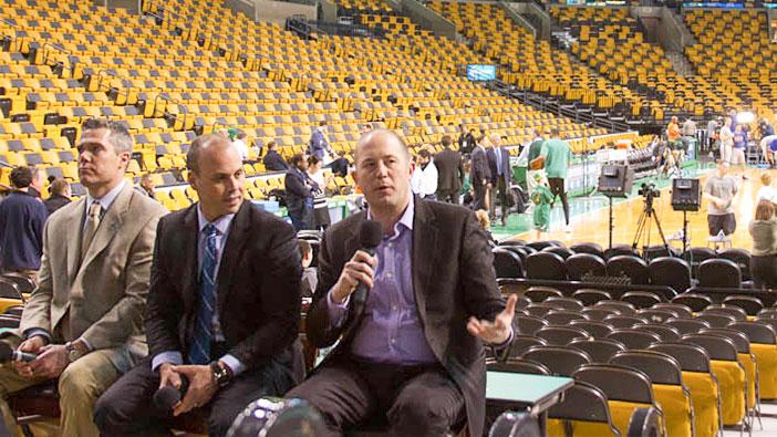 Hult Boston visits the Celtics and career presentations