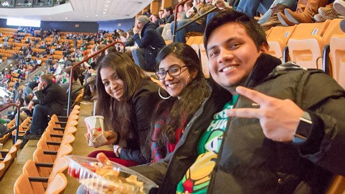 Hult Boston students visit the Celtics