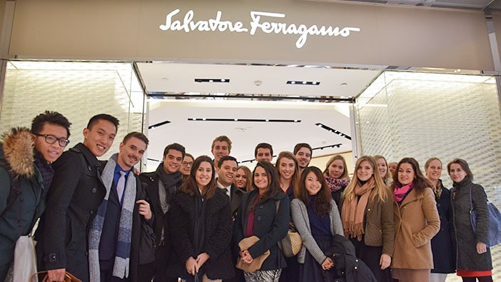 Hult Shanghai students get a lesson in luxury at Salvatore Ferragamo
