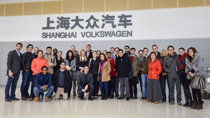 Hult Shanghai students discover key to Volkswagen's success in China