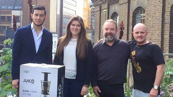 Juice dreams: Hult undergraduate students receive investment in their on-campus business