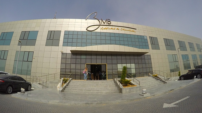 BMB Groups's Dubai factory