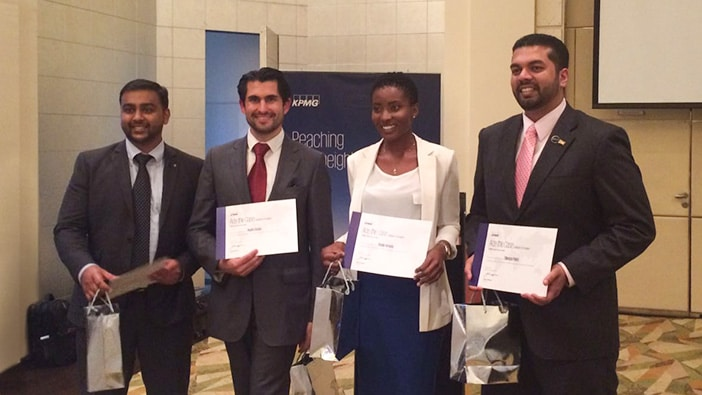 Hult students take on global case challenges – and win!