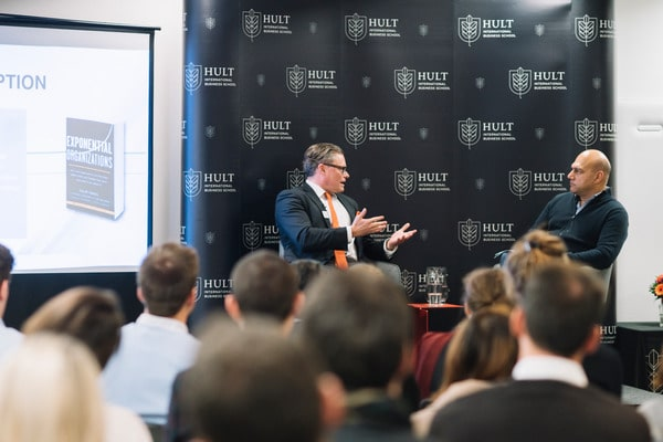 Hult welcomes global speakers for a day of disruption