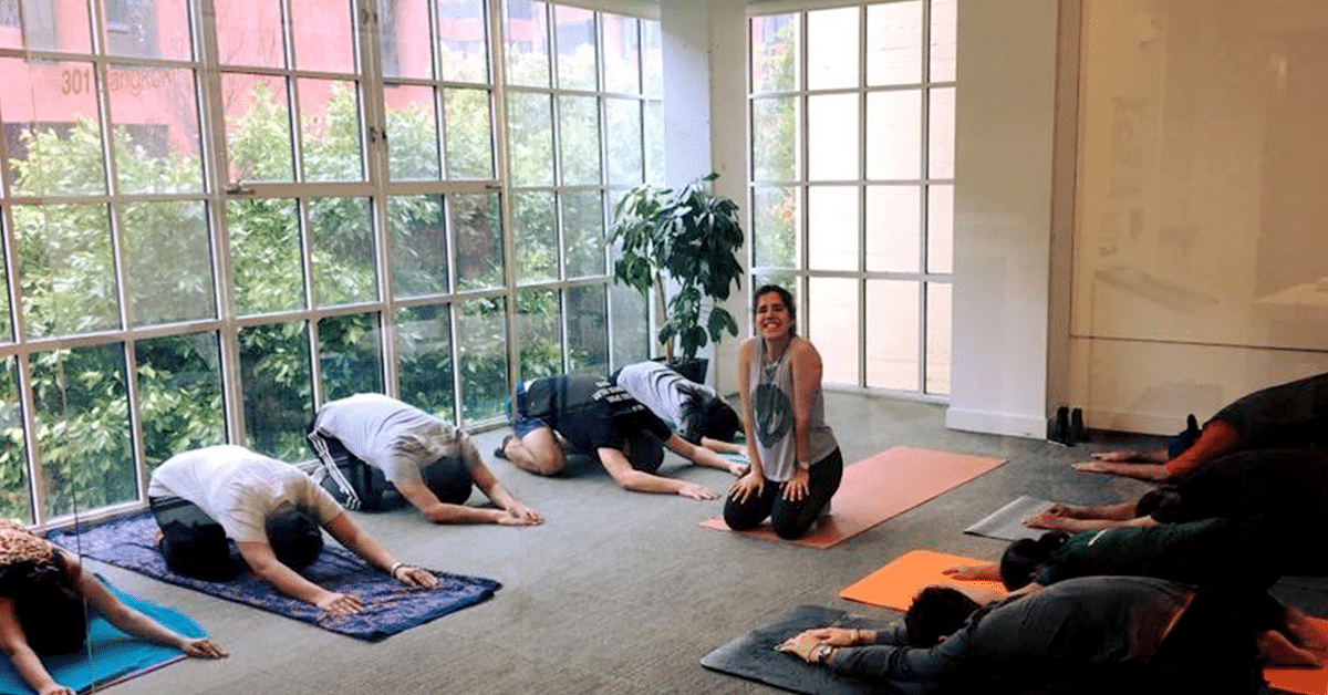 Yoga as a Learning & Development tool