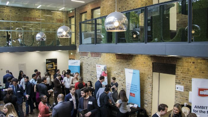 Hult's career fairs host 150+ companies worldwide