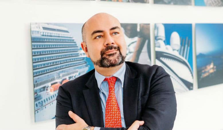 Hult MBA alumni Fabrizio is currently the CEO of Fincantieri China