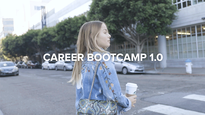 Career Bootcamp - watch our videos to find out more.
