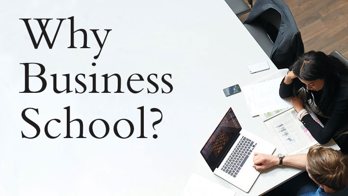 Disproving my prejudices about business school