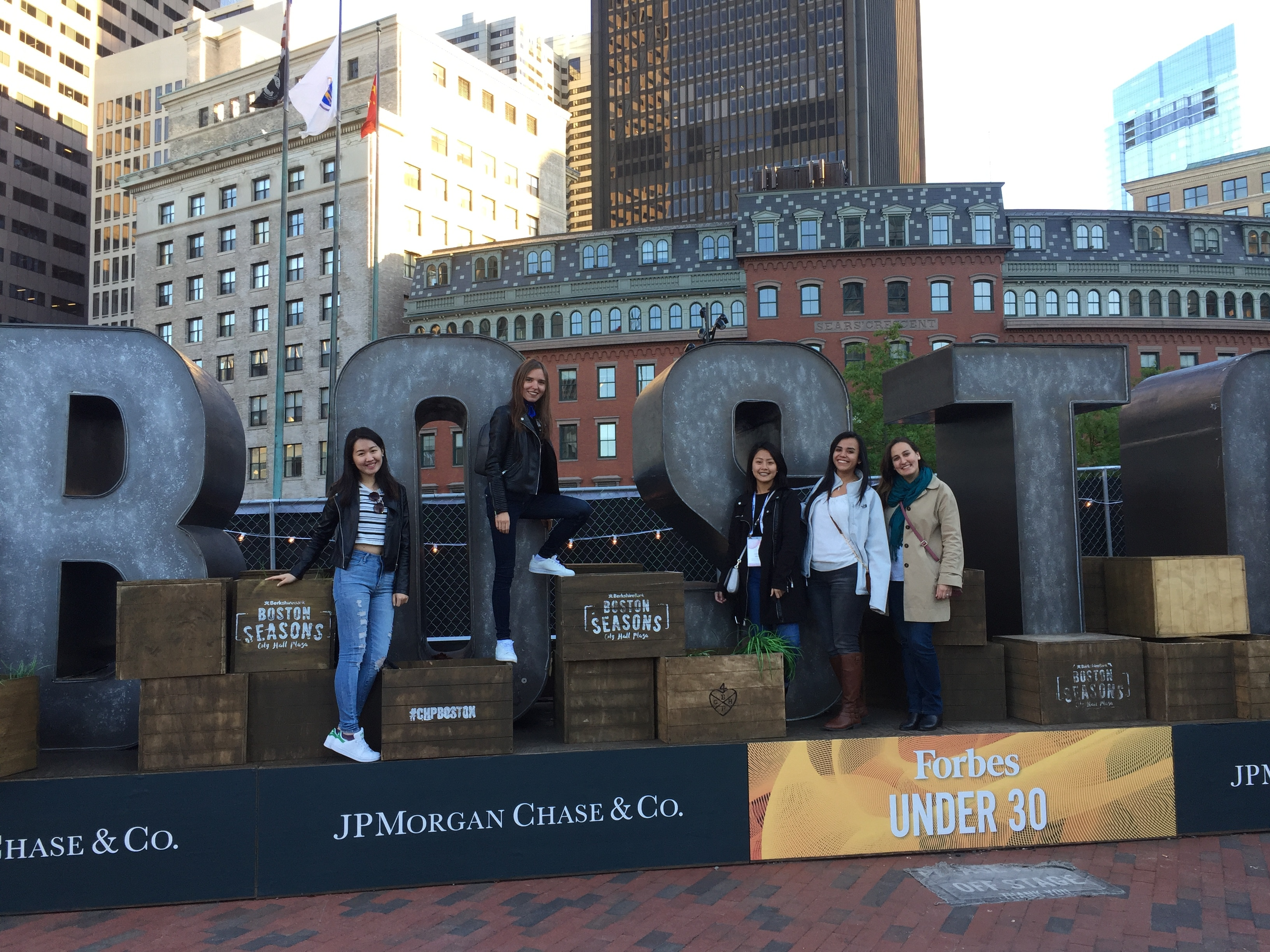 Hult students discovering Boston