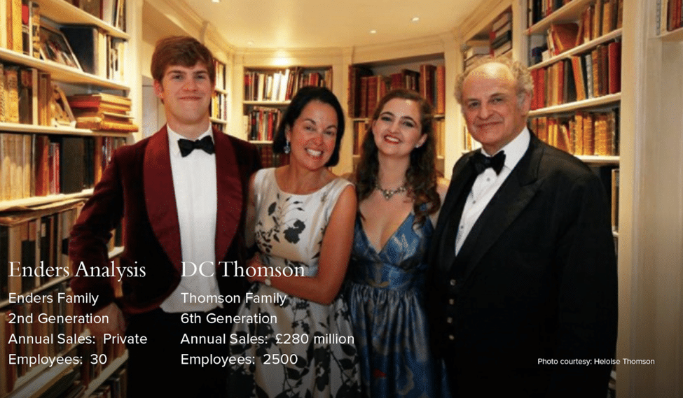 Ender and DC Thomson family businesses