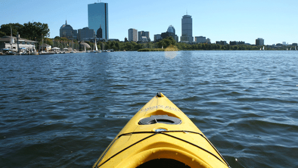 Kayaking Charles River