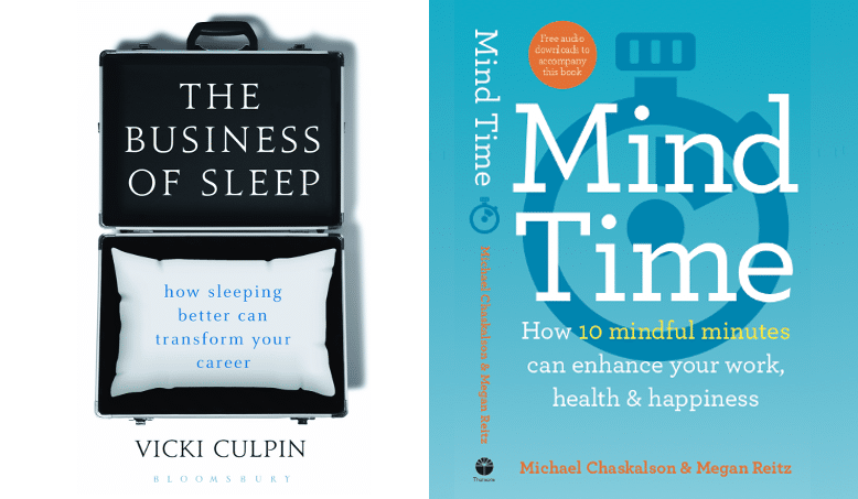 Book launch: The Business of Sleep and Mind Time