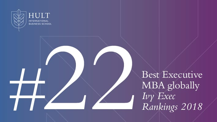 Hult ranks 22nd for Best Executive MBA