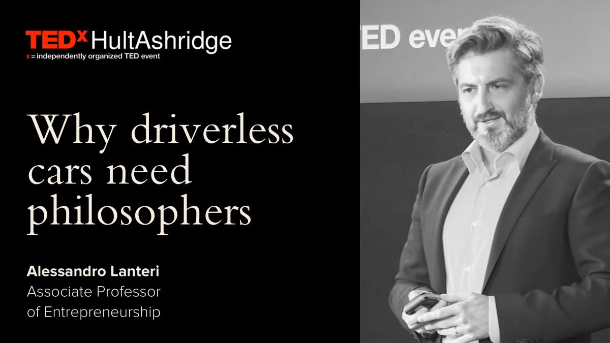 TEDxHultAshridge: Why driverless cars need philosophers