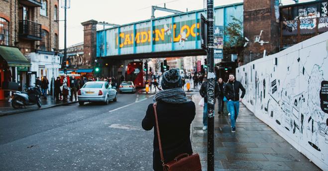 London's markets : Camden