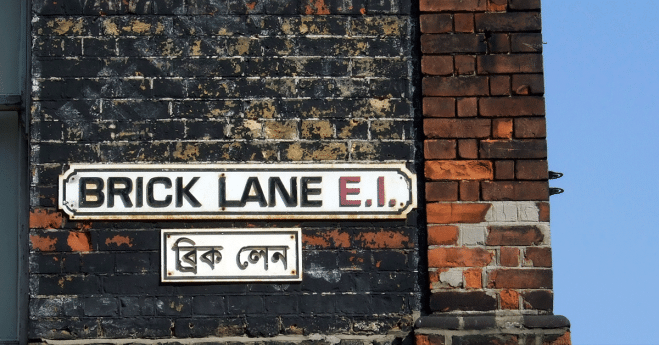 London's markets : Brick Lane