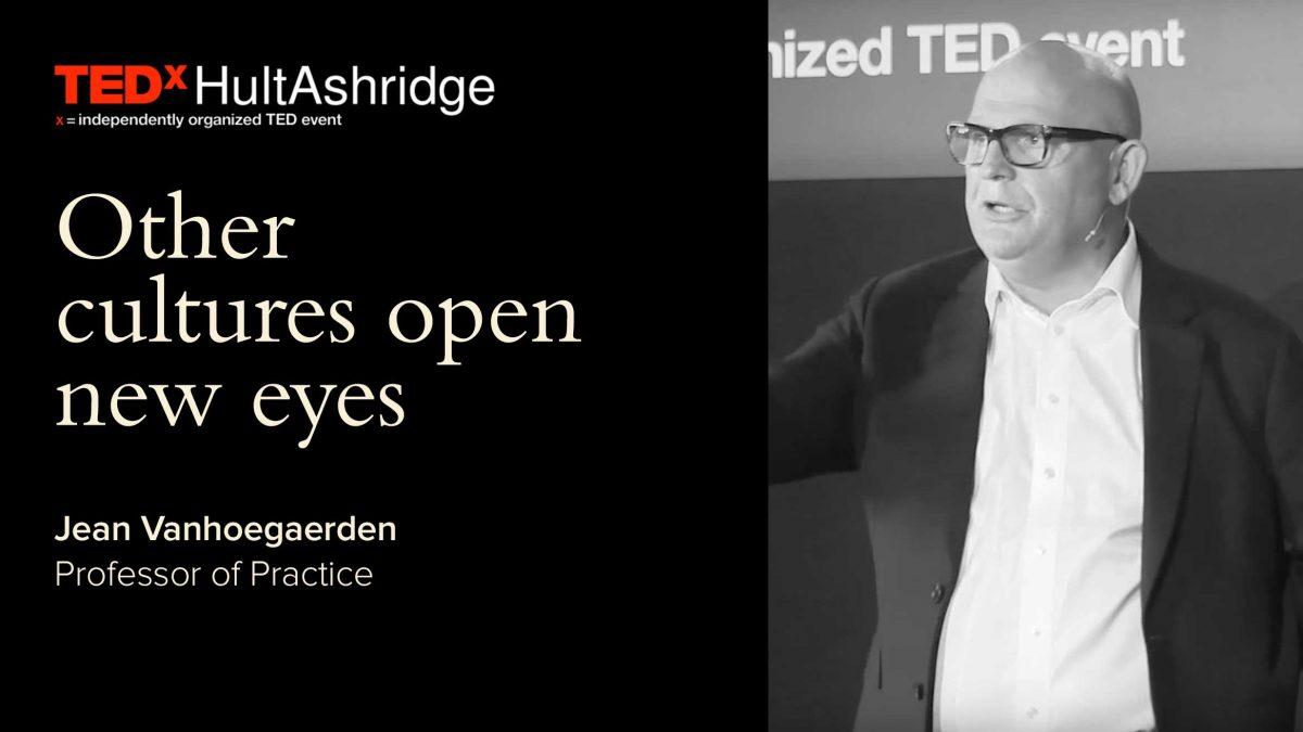 TEDxHultAshridge: Other cultures open new eyes