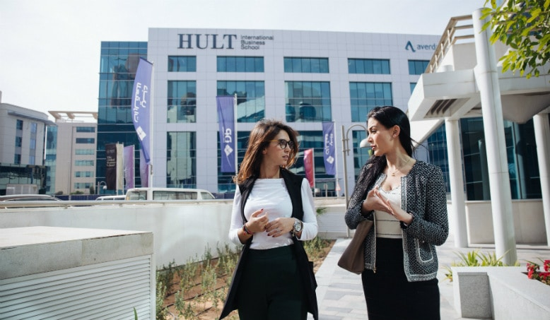 Jumping up the career ladder: How Hult EMBA alumni are getting ahead [BusinessBecause]