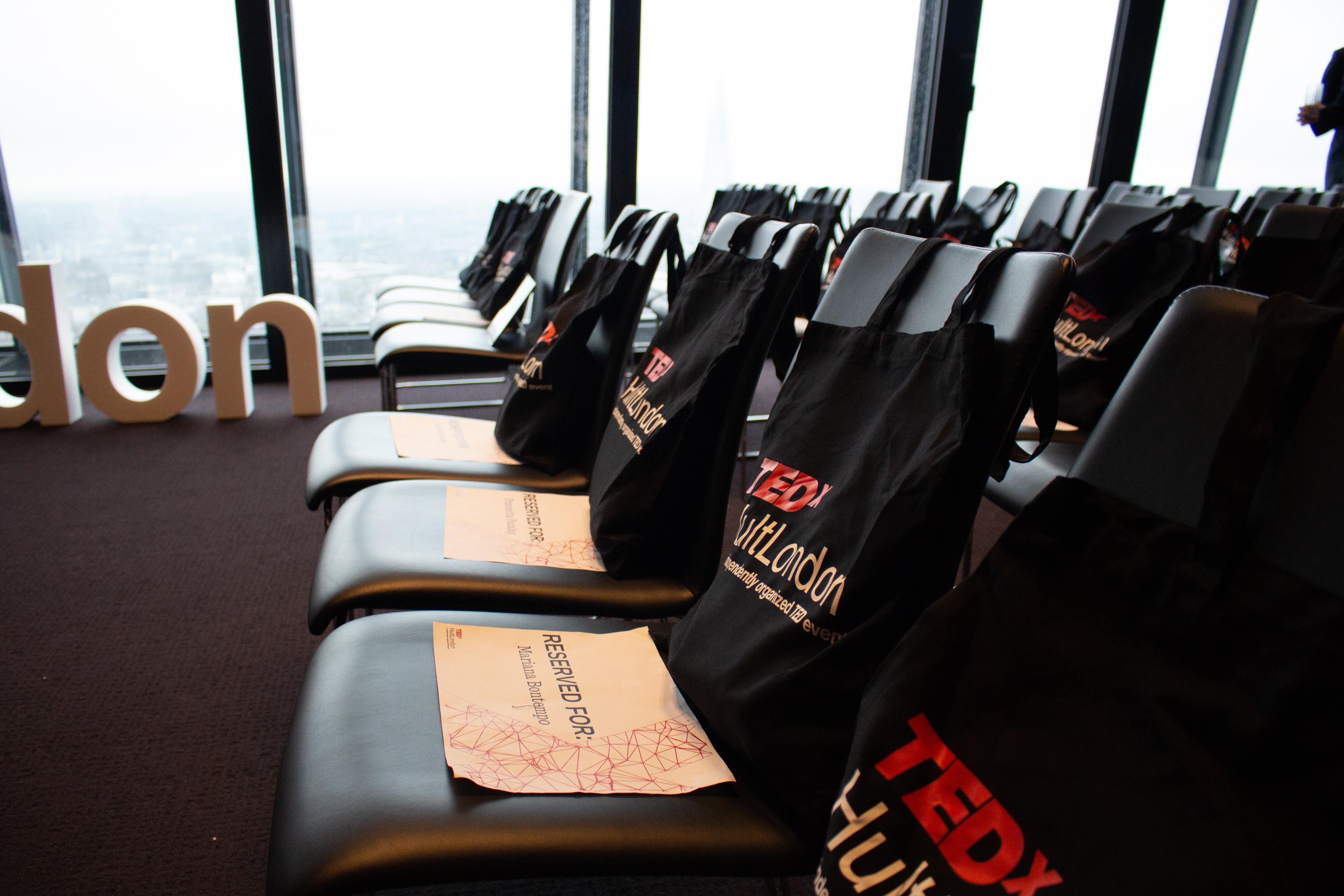 TEDxHult London room