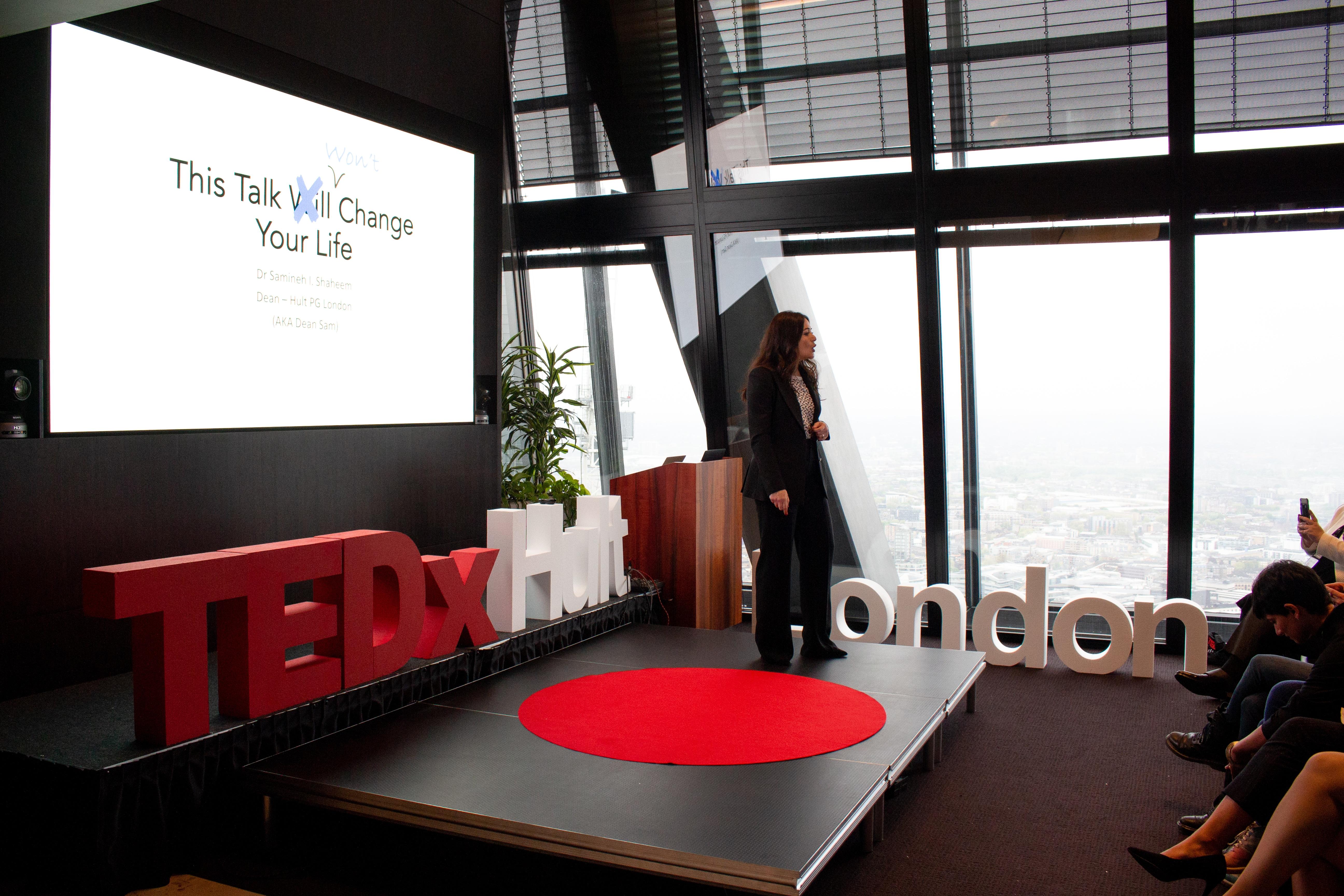 TEDxHultLondon Dean Sam