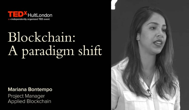 TEDxHultLondon: A paradigm shift from centralized to decentralized systems