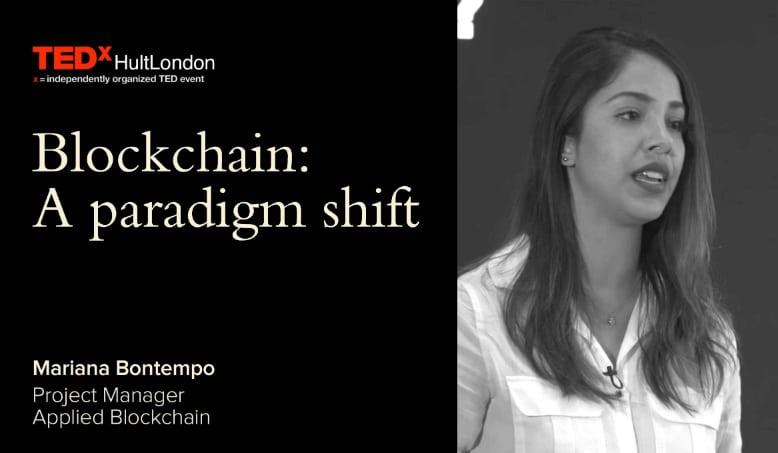 Blockchain - TedXHultLondon