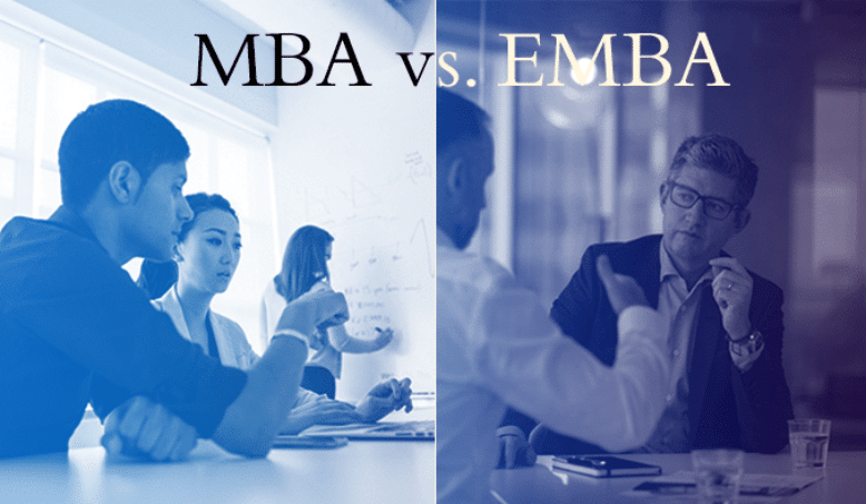 MBA vs. EMBA: What's the difference?