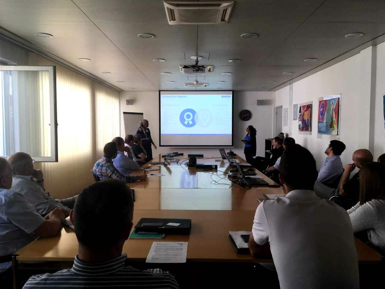 Mikron crowdsourcing presentation