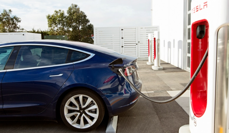 Teslacharging
